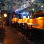 Banquette côté bar